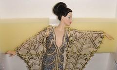 1994 Erte Stardust Porcelain Doll #1 (3) (Paul BarbieTemptation) Tags: silver gold doll barbie first collection series 1994 limited edition porcelain mattel stardust erte