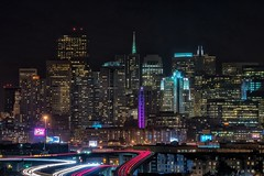 San Francisco (karinavera) Tags: sanfrancisco city longexposure travel night cityscape view potrerohill nikond5300
