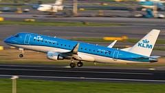 KLM Embraer ERJ-175 (170-200) PH-EXG (Aviation and Travel photography) Tags: amsterdam plane canon airport flickr outdoor jet nederland planes klm airlines schiphol airliners embraer jetliner phexg