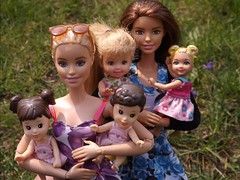 Barbie & Teagan (doll_lovebug) Tags: family love kids lesbian mom couple doll dolls barbie moms barbies lesbians loveislove