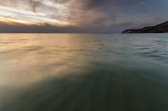 Mindful Walking (Aaron Springer) Tags: sunset sky cloud nature water landscape spring twilight outdoor michigan dune wave lakemichigan northernmichigan thegreatlakes sleepingbearnationallakeshore