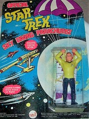 Rare AHI Star Trek Captain Kirk Parachute Figure Toy (1970's) (Jonathon Jones) Tags: startrek toys nostalgia actionfigures sciencefiction 1970s ahi ebook collectibles parachute captainkirk moc oldtoys vintagetoys ebooks kindle