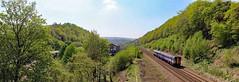 HOW GREEN IS THE VALLEY (fenaybridge) Tags: leeds todmorden eastwood hebdenbridge 153 dmu caldervalley 153378 manchesteryorkshire 2e11