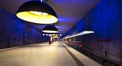 Ghost Train (Pamela Marklew) Tags: underground subway munich mnchen ubahn westfriedhof