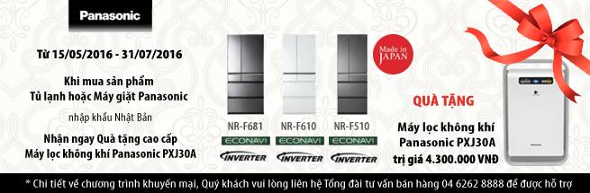 PANASONIC ưu đãi khủng khi mua tủ lạnh, máy giặt nhập khẩu Nhật Bản tại MediaMart