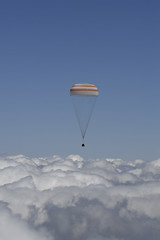 Landing of the Soyuz TMA-19M spacecraft (europeanspaceagency) Tags: tm peake