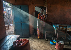 Ray of light going inside a house, Omo valley, Jinka, Ethiopia (Eric Lafforgue) Tags: africa light people woman sun house color home horizontal mystery outdoors photography women ray interior sony atmosphere indoors omovalley ethiopia sunbeam oneperson developingcountry rayoflight hornofafrica eastafrica jinka abyssinia realpeople homeinterior fulllenght 1people ethnicgroup residentialstructure a7r2 ethio162300