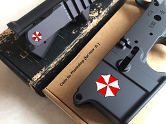 UmbrellaUpperLower w color (danpass) Tags: umbrella corporation upper lower receiver ar15