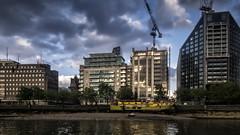 The Albert Embankment (Mike Hewson) Tags: london thames architecture river lumix panasonic embankment goldenhour albertembankment gx8 photo24 mirrorless micro43 microfourthirds leicadgsummilux leicasummilux15mm