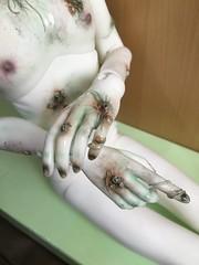 Body for Hans von Rungholt, work in progress (Sadomina) Tags: doll bjd abjd balljointed ringdoll sadomina zombie ghost kane rungholt faceup
