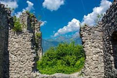 Ruine Ehrenberg (Richard van Hilten) Tags: oostenrijk reutte
