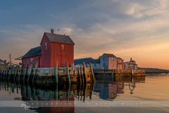 Motif sunrise (betty wiley) Tags: new england motif sunrise photography coast harbor dock massachusetts scenic betty northshore wiley iconic rockport seafaring motif1 bettywileyphotography