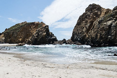 Big Sur (jessicakizmann) Tags: california west beach outdoors waterfall bigsur adventure explore pfeifferbeach adventureeveryday