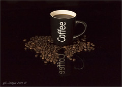 Coffee... (kirby126) Tags: coffee handheld iso cup reflection beans pjlimages noise canon6d canon70200f4i