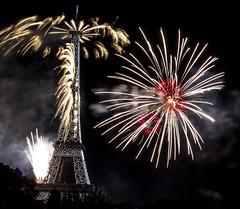 _MG_4729 (Amit Aggarwal0990) Tags: fireworks bastille paris eiffel amit bw night celebration