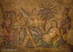 Mosaic floor (Askjell's Photo) Tags: hellas medieval greece oldtown rodos rhodes rhodos middleage knightsofstjohn egeo thegrandmasterspalace knightshospitaller rhodosoldtown askjell magnusmagister