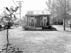 Shack Up Inn ~ watch: (Shein Die) Tags: blackandwhite bw rural mono shack decrepit bottletree shackupinn hopson hopsoncommissary
