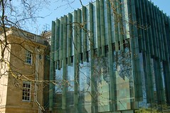 The new and the old (Susan Leech) Tags: art glass ceramic bath modernarchitecture holburnemuseum ericparry