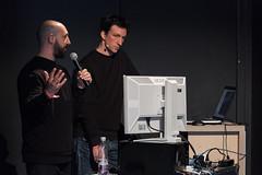 "Presentation 'The Making of ""Ravel Landscapes""' (node-forum) Tags: day2 frankfurt presentation lecture node 2015 naxoshalle vvvv quayola node15 ""nodeforumfordigitalarts"" ""natansinigaglia"" ""ofpatchesandprojects"" ""themakingof""ravellandscapes"""""
