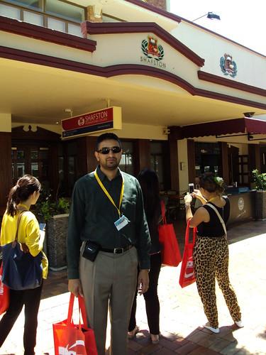 Director Mr. G.S.Kang at Shafston Campus Gold Coast, Australia