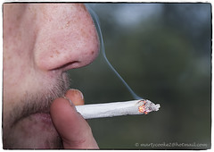 03/52 Smoke Gets In Your Eyes? (Marty Cooke) Tags: smoking cigarettes tobacco