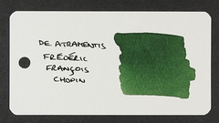 De Atramentis Frederic Francois Chopin - Word Card