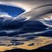 Cloudy skys over Las Alpujarras