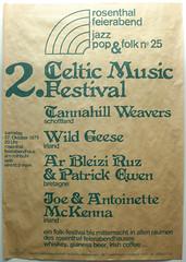 2. Celtic Music Festival