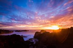 Dark sunset (1creol) Tags: ocean canon landscape 7d nuages paysage couleur runion 1022 larunion iledelarunion poselongue 1creol