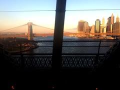 From the Manhattan Bridge (bolbolaan) Tags: nyc newyorkcity bridge newyork manhattan earlymorning lowermanhattan manhatan