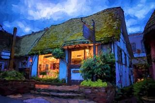 Van Gogh in Carmel - Topaz Impression