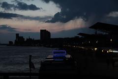 Hafen (rosa_rusa) Tags: sunset sky luz night port germany puerto deutschland abend noche cityscape nacht hamburg alemania hafen schwartz hamburgo altona cudrado rosarusa