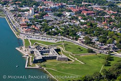 Castillo de San Marco (Michael Pancier Photography) Tags: landscape us unitedstates florida helicopter editorial oldtown staugustine aerialphotography touristattractions castillodesanmarcos nationalmonuments travelphotography saintaugustine commercialphotography naturephotographer editorialphotography stjohnscounty michaelpancier michaelpancierphotography castillodesanmarcosnationalmonument landscapephotographer fineartphotographer michaelapancier wwwmichaelpancierphotographycom historicsaintaugustine downtownsaintaugustine oldtownhelicopters