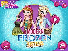 時尚的冰雪姊妹(Modern Frozen Sisters)