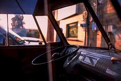 mr. dash (chickentender (Eyewanders Foto)) Tags: film vw contrast 35mm volkswagen slidefilm dash fujifilm fujichrome provia100f mz3 sidelight keepfilmalive buyfilmnotmegapixels eyewandersfoto 9yardsbrewing