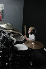 Abby-drumles-497 (leoval283) Tags: percussion abby nora lessons rockschool drummen fruitweg