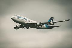 747 Corsair (Pixelicus) Tags: colors plane airplane nikon aircraft air meeting corsair boeing 747 avion liner fertalais d700