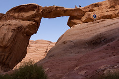 Jebel Umm Fruth Rock Bridge (Tulbach) Tags: desert urlaub wadirum jordan rum wadi jordanien