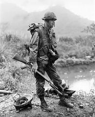 Marine Private R. Jones, Da Nang 1967. (Peer Into The Past) Tags: badass peerintothepast history vietnamwar vietnam danang 1967 marinecorps marine marines usmc