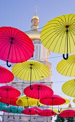 Under umbrella (kud4ipad) Tags: 2015 денькиева софиевскаяплощадь зонт architecture cityscape kiev sofia cathedral umbrella platinumheartaward