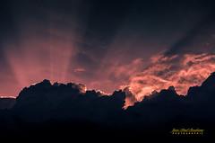 Quand je rve de voler/When I dream of flying (Jean-Paul Boudreau Photographie) Tags: storm clouds flying back imagination among lit jeanpaulboudreauphotographie