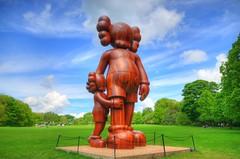 Good Intentions, at Yorkshire Sculpture Park (Jeffpmcdonald) Tags: uk sculpture yorkshire kaws yorkshiresculpturepark goodintentions briandonnelly brettonpark nikond7000 jeffpmcdonald may2016