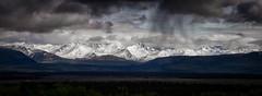 A break in the clouds (frostnip907) Tags: summer panorama storm nature rain weather alaska clouds landscape pano thunderstorm alaskarange f64g76r5win