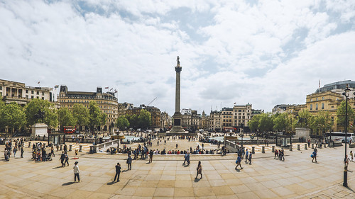Trafalgar Square and Nelson