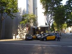 Crowne Plaza Hotel (stillunusual) Tags: barcelona street travel urban hotel spain taxi bcn citylife streetphotography streetlife streetscene catalonia taxidriver catalunya montjuic montjuc urbanscenery 2016 travelphotography crowneplazahotel travelphoto travelphotograph