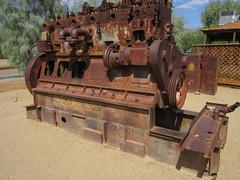 IMG_3152 (christeli_sf) Tags: deathvalley furnacecreek miningequipment scenicdrive