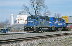 Just Feels Like Actual Conrail (craigsanders429) Tags: conrail bereaohio conraillocomotives conrailinberea conrailtrains conrailstacktrains railfanninginbereaohio conrail6524 conrail6789