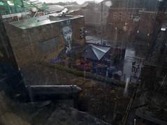 Rain at Clapham Junction 2 (Tom Hickmore) Tags: storm rain bowie cafe railway clapham thunder downpour