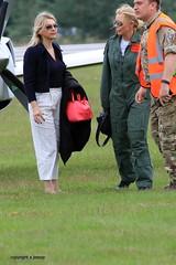 Carol Vorderman J78A0032 (M0JRA) Tags: people airshow carol planes raf cosford vorderman