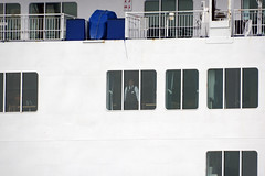 Passing Window (quintinsmith_ip) Tags: sea water ferry king ship ships cargo shipping rivertyne dfds